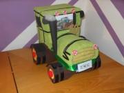 Traktor z uterákov